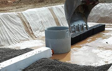 Regenwasserrückhaltung / Retention