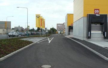 DHL, Umschlaghalle in 60386 Frankfurt- Fechenheim