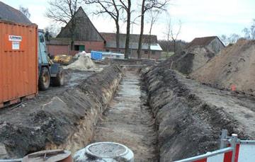 Erschließung Wohnbebauung in 59229 Ahlen, 1. Bauabschnitt