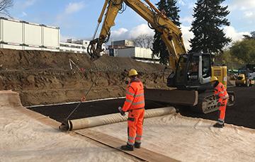 Neubau eines Autohauses in 64295 Darmstadt